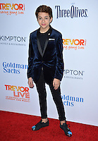 BEVERLY HILLS, CA. December 4, 2016: J.J. Totah at the 2016 TrevorLIVE LA Gala at the Beverly Hilton Hotel.<br /> Picture: Paul Smith/Featureflash/SilverHub 0208 004 5359/ 07711 972644 Editors@silverhubmedia.com