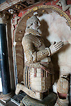 Marble monument to Sir Michael Stanhope, All Saints church, Sudbourne, Suffolk, England