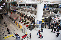 NEW YORK, NY - MARCH 13: View of Terminal 4 of the John F. Kennedy Airport in New York on March 13, 2020. in New York City. President Donald Trump cancels all flights between Europe and the United States this Friday, due to the expansion of the Covic-19. 118,000 cases of coronavirus exist worldwide and more than 4,000 deaths go so far according to the WHO. (Photo by Pablo Monsalve / VIEWpress via Getty Images)
