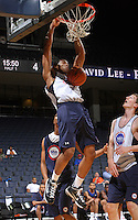 Derrick Randall at the NBPA Top100 camp June 17, 2010 at the John Paul Jones Arena in Charlottesville, VA. Visit www.nbpatop100.blogspot.com for more photos. (Photo © Andrew Shurtleff)