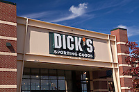 A Dick's Sporting Goods store is pictured in Pittsfield, Massachusetts Thursday October 3, 2013.