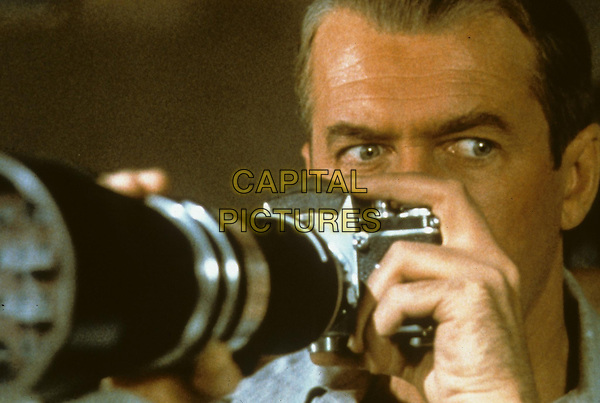 James Stewart<br /> in Rear Window (1954) <br /> *Filmstill - Editorial Use Only*<br /> CAP/NFS<br /> Image supplied by Capital Pictures