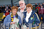 Pictured at the McGrath Cup semi-final, Kerry v CIT on Sunday were l-r: Emer Hogan, Micheal Ó Suilleabhain and Bridget Walsh (all Tralee)