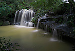 The beautiful Hunts Creek Waterfall in suburban Sydney, NSW, Australia