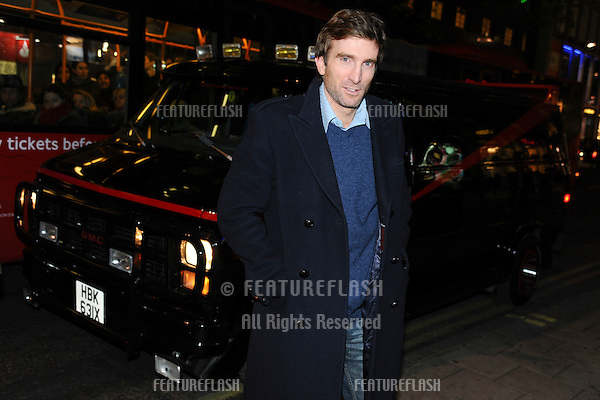 Actor, Sharlto Copley signs copies of 'The A Team' DVD at HMV store Oxford Street, London.  29/11/2010  Picture by: Steve Vas / Featureflash