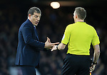 West Ham's Slaven Bilic talks to the linesman<br /> <br /> Barclays Premier League - West Ham United v Stoke City - Upton Park - England -12th December 2015 - Picture David Klein/Sportimage