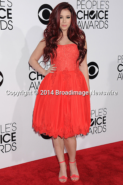 Pictured: Jillian Rose Reed<br /> Mandatory Credit &copy; Gilbert Flores /Broadimage<br /> 2014 People's Choice Awards <br /> <br /> 1/8/14, Los Angeles, California, United States of America<br /> Reference: 010814_GFLA_BDG_298<br /> <br /> Broadimage Newswire<br /> Los Angeles 1+  (310) 301-1027<br /> New York      1+  (646) 827-9134<br /> sales@broadimage.com<br /> http://www.broadimage.com