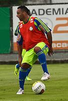 SÃO PAULO, SP, 31 DE JANEIRO DE 2012 - TREINO PALMEIRAS - Daniel Carvalho  durante treino do Palmeiras no CT do clube, na Barra Funda, zona oeste de Sao Paulo, na tarde desta terça-feira 31. FOTO: ALEXANDRE MOREIRA - NEWS FREE.