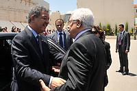 Presidente palestino felicita iniciativa de paz del presidente Leonel Fernández