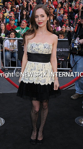 "ELIZA DUSHKU.attends World Premiere of ""Pirates of the Caribbean: On Stranger Tides"" held at Disneyland Anaheim, California_07/05/2011..Mandatory Photo Credit: ©Crosby/Newspix International..**ALL FEES PAYABLE TO: ""NEWSPIX INTERNATIONAL""**..PHOTO CREDIT MANDATORY!!: NEWSPIX INTERNATIONAL(Failure to credit will incur a surcharge of 100% of reproduction fees)..IMMEDIATE CONFIRMATION OF USAGE REQUIRED:.Newspix International, 31 Chinnery Hill, Bishop's Stortford, ENGLAND CM23 3PS.Tel:+441279 324672  ; Fax: +441279656877.Mobile:  0777568 1153.e-mail: info@newspixinternational.co.uk"
