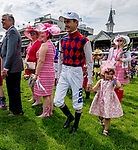 May 3, 2019 : Scenes from the Survivor&rsquo;s <br /> Parade on Kentucky Oaks Day at Churchill Downs on May 3, 2019 in Louisville, Kentucky. Scott Serio/Eclipse Sportswire/CSM