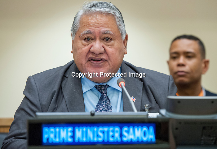 """Event on """"Oceans 14: Implementing the Samoa Pathway and Sustainable Development Goal 14 by the Small Island Developing States (SIDS) through Public-Private Partnerships"""" (organized by the Permanent Mission of the Netherlands, in collaboration with the office of the High Representative for the Least Developed Countries, Landlocked Developing Countries and Small Island Developing State)"""