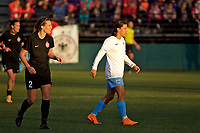Portland, OR - Sunday March 11, 2018: Sam Kerr during a National Women's Soccer League (NWSL) pre season match between the Portland Thorns FC and the Chicago Red Stars at Merlo Field.