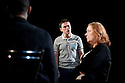 In Basildon by David Elridge, directed by Dominic Cooke. With  Lee Ross as Barry, Linda Bassett as Doreen. Opens at The Royal Court Theatre Downstairs on 22/2/12 . CREDIT Geraint Lewis