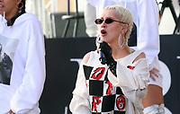 JUN 15 Christina Aguilera Performs On NBC's Concert Series