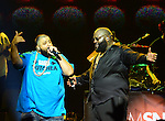 MIAMI, FL - NOVEMBER 23: DJ Khaled and Rick Ross performing in concert at the James L. Knight International Center on November 23, 2013 in Miami Beach, Florida.  (Photo by Johnny Louis/jlnphotography.com)