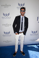 www.acepixs.com<br /> <br /> January 28 2017, Hallandale, FL<br /> <br /> Nic Roldan arriving at the Pegasus World Cup at Gulfstream Park on January 28, 2017 in Hallandale, Florida.<br /> <br /> By Line: Solar/ACE Pictures<br /> <br /> ACE Pictures Inc<br /> Tel: 6467670430<br /> Email: info@acepixs.com<br /> www.acepixs.com