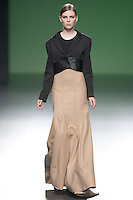 Amaya Arzuaga in Mercedes-Benz Fashion Week Madrid 2013