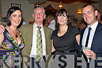 Having a wonderful time at the 50th anniversary celebrations for the 1958 John Mitchell's Minor Team were l/r Joanne, Paddy & Margaret O'Mahony and Alan Conway........................................................ ............   Copyright Kerry's Eye 2008