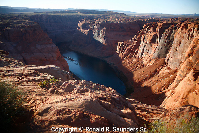 Horseshoe Bend is a horseshoe-shaped meander of the Colorado River located near the town of Page, Arizona, in the United States