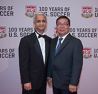 Sunil Gulati, David Chung. US Soccer held their Centennial Gala at the National Building Museum in Washington DC.