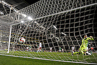 06/10/2016; 2018 FIFA World Cup Qualifier Republic of Ireland vs Georgia; Aviva Stadium, Dublin<br /> Ireland&rsquo;s James McClean scores a goal which was disallowed.<br /> Photo Credit: actionshots.ie/Tommy Grealy