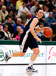 31 January 2010: University of New Hampshire Wildcats' guard Amy Simpson, a Senior from Waterford, CT, in action against the University of Vermont Catamounts at Patrick Gymnasium in Burlington, Vermont. The Lady Catamounts defeated the visiting Wildcats 78-64. Mandatory Credit: Ed Wolfstein Photo