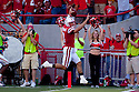 04 Sep 2010: Nebraska Cornhuskers' Taylor Martinez (3) scores his first touchdown and the one for the game against the Western Kentucky Hilltoppers at Memorial Staduim in Lincoln, Nebraska. Nebraska defeated Western Kentucky 49 to 10.
