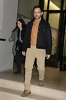 NEW YORK, NY - FEBRUARY 13: Nick Kroll seen exiting BuzzFeed studios on February 13, 2020 in New York City.   <br /> CAP/MPI/EN<br /> ©EN/MPI/Capital Pictures