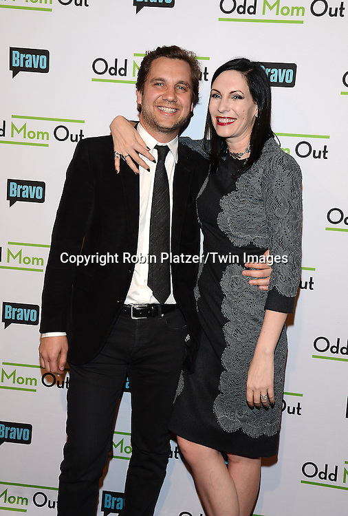 Jill Kargman and husband Harry Kargman attends the &quot;Odd Mom Out&quot; Screening, which is Bravo's first scripted half-hour comedy from Jill Kargman,  on June 3, 2015 at Florence Gould Hall in New York City, New York, USA.<br /> <br /> photo by Robin Platzer/Twin Images<br />  <br /> phone number 212-935-0770
