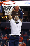 CHARLOTTESVILLE, VA - MARCH 03: Notre Dame's Austin Torres. The University of Virginia Cavaliers hosted the University of Notre Dame Fighting Irish on March 3, 2018 at John Paul Jones Arena in Charlottesville, VA in a Division I men's college basketball game. Virginia won the game 62-57.