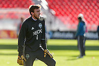 Toronto, ON, Canada - Friday Dec. 09, 2016: Tyler Miller during training prior to MLS Cup at BMO Field.