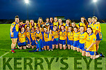 Beaufort winners of the Kerry LGFA Intermediate Cup after their win against Chorca Dhuibhne on Saturday night in Austin Stack Park.