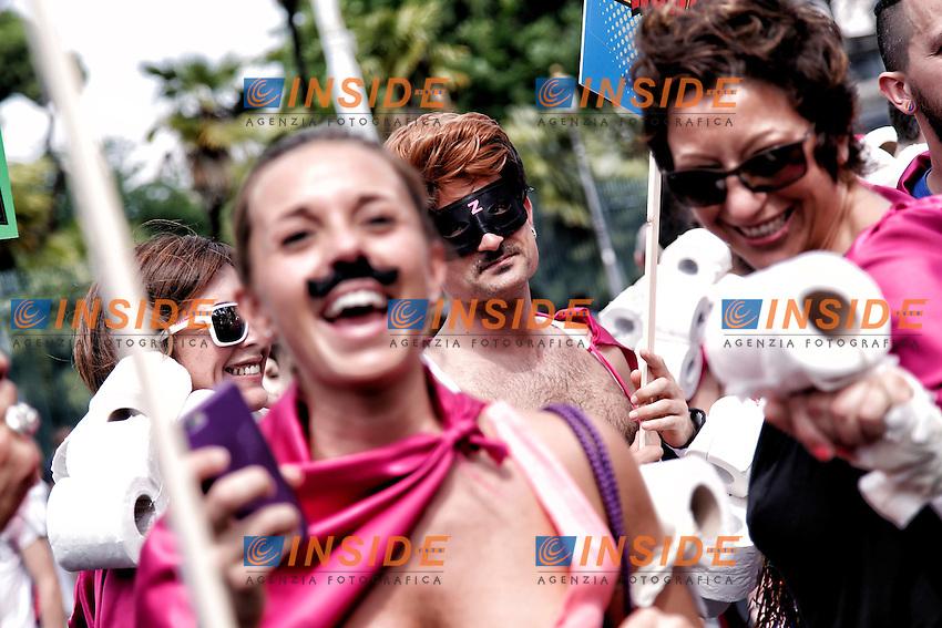 Roma 11-06-2016 Gay Pride 2016.<br /> Photo Samantha Zucchi Insidefoto