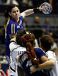 SERBIA, BELGRADE: France's Alexandra Lacrabere in action during handball Women's World Championship match between France and Montenegro in Belgrade, Serbia on Wednesday, December 11, 2013. (credit image & photo: Pedja Milosavljevic / STARSPORT / +318 64 1260 959 / thepedja@gmail.com)