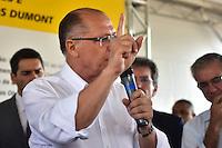 CAMPINAS,SP - 02.03.2017 - ALCKMIN-SP - O governador Geraldo Alckmin, durante inauguração da 4ª faixa de rolamento da Rodovia dos Bandeirantes (SP 348), entre os Km 87,4 a 89,5, sentido capital, na manhã desta quinta-feira, 02, na cidade de Campinas, interior do estado de São Paulo.(Foto: Eduardo Carmim/Brazil Photo Press)