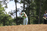 James Hahn (USA) plays his 2nd shot on the 1st hole Saturday's Round 3 of the 2017 PGA Championship held at Quail Hollow Golf Club, Charlotte, North Carolina, USA. 12th August 2017.<br /> Picture: Eoin Clarke | Golffile<br /> <br /> <br /> All photos usage must carry mandatory copyright credit (&copy; Golffile | Eoin Clarke)