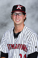 Kannapolis Intimidators pitcher J.B. Olson (24) poses for a photo prior to the game against the Delmarva Shorebirds at Kannapolis Intimidators Stadium on August 1, 2017 in Kannapolis, North Carolina.  (Brian Westerholt/Four Seam Images)