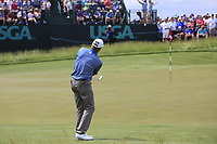 Steve Stricker (USA) chips onto the 6th green during Saturday's Round 3 of the 117th U.S. Open Championship 2017 held at Erin Hills, Erin, Wisconsin, USA. 17th June 2017.<br /> Picture: Eoin Clarke | Golffile<br /> <br /> <br /> All photos usage must carry mandatory copyright credit (&copy; Golffile | Eoin Clarke)
