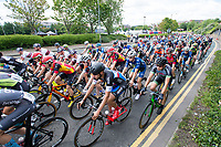 Picture by Allan McKenzie/SWpix.com - 16/07/17 - Cycling - HSBC UK British Cycling Grand Prix Series - Velo29 Altura Stockton Grand Prix - Stockton, England - The race rolls out.
