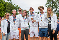 The Hague, Netherlands, 11 June, 2017, Tennis, Play-Offs Competition, Team Heerhugowaard<br /> Photo: Henk Koster/tennisimages.com