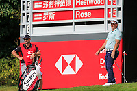 Ryan Fox (NZL) on the 8th green during the 2nd round at the WGC HSBC Champions 2018, Sheshan Golf CLub, Shanghai, China. 26/10/2018.<br /> Picture Fran Caffrey / Golffile.ie<br /> <br /> All photo usage must carry mandatory copyright credit (&copy; Golffile | Fran Caffrey)