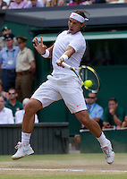 Rafael Nadal (ESP) (2) against Andy Murray (GBR) (4) in the Semi-Finals of the gentlemen's singles.  Rafael Nadal beat Andy Murray 6-4 7-6 6-4..Tennis - Wimbledon Lawn Tennis Championships - Day 11 Fri 2nd July 2010 -  All England Lawn Tennis and Croquet Club - Wimbledon - London - England..© FREY - AMN IMAGES  Level 1, Barry House, 20-22 Worple Road, London, SW19 4DH.TEL - +44 (0) 20 8947 0100.Email - mfrey@advantagemedianet.com.www.advantagemedianet.com