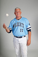 NWA Democrat-Gazette/DAVID GOTTSCHALK  AN BBH-HARB BRADLEY — Ron Bradley of Springdale Har-Ber Coach of the Year photographed Thursday, May 24, 2018, in Springdale.