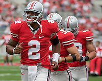 September 27, 2008: Ohio State quarterback Terrelle Pryor(2).. The Ohio State Buckeyes defeated the Minnesota Gophers 34-21 on September 27, 2008 at Ohio Stadium, Columbus, Ohio.