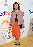 09 March 2019 - Hollywood, California - Adele Lim. 50th NAACP Image Awards Nominees Luncheon held at the Loews Hollywood Hotel. Photo Credit: Birdie Thompson/AdMedia