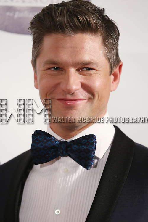 David Burtka attends the Drama League's 30th Annual 'Musical Celebration of Broadway' honoring Neil Patrick Harris at the Pierre Hotel on February 3, 2014 in New York City.