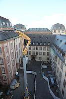 Bauarbeiten im Darmstädter Residenzschloss
