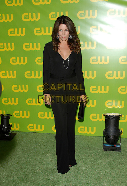 LAUREN GRAHAM.The CW Launch Party held at Warner Brothers' Studios in Burbank, California, USA..September 18th, 2006.Ref: DVS.full length black top trousers clutch.www.capitalpictures.com.sales@capitalpictures.com.©Debbie VanStory/Capital Pictures