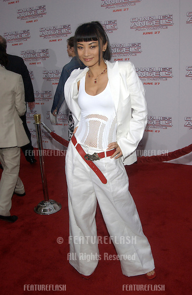 Actress BAI LING at the Hollywood premiere of Charlie's Angels: Full Throttle..June 18, 2003.